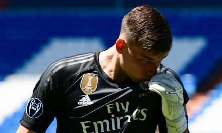 Andriy Lunin set to return to Real Madrid