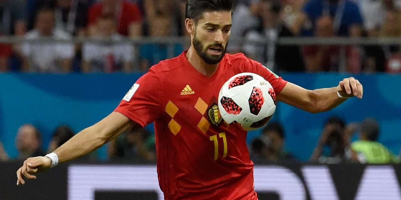 Yannick Carrasco on his way back to Atlético Madrid