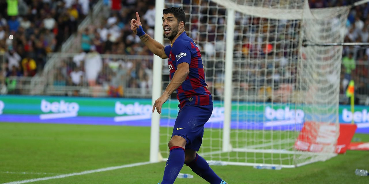 Luis Suárez sidelined for four months