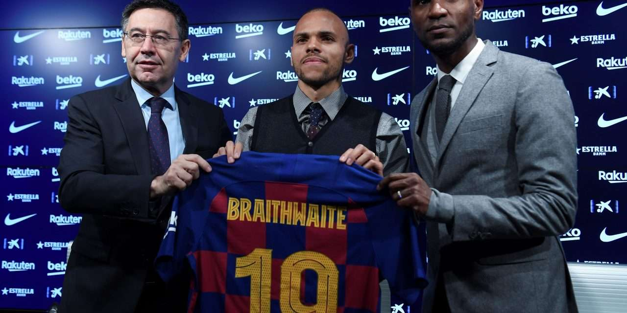"Martin Braithwaite: ""Barcelona play the best football in the world"""