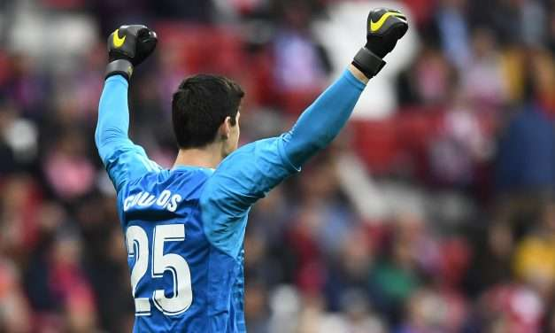 Thibaut Courtois named La Liga Player of the Month for January
