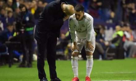 "Roberto Martínez: ""Hazard out of action for at least three months"""