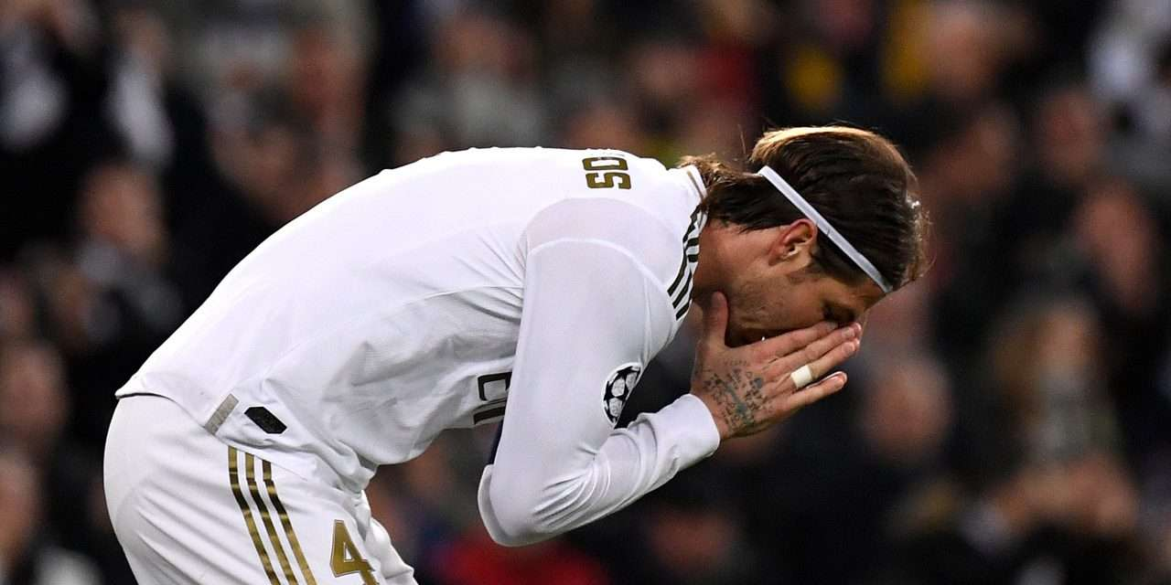 Sergio Ramos ruled out of Champions League second leg tie