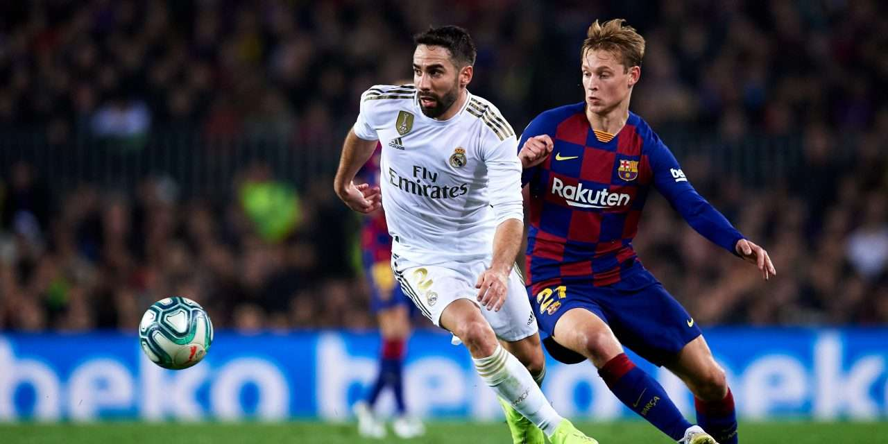 Real Madrid v Barcelona: one victory separates the clubs going into Clásico 244