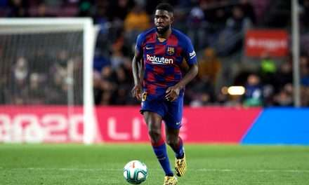 Barcelona ready to sell defender Samuel Umtiti