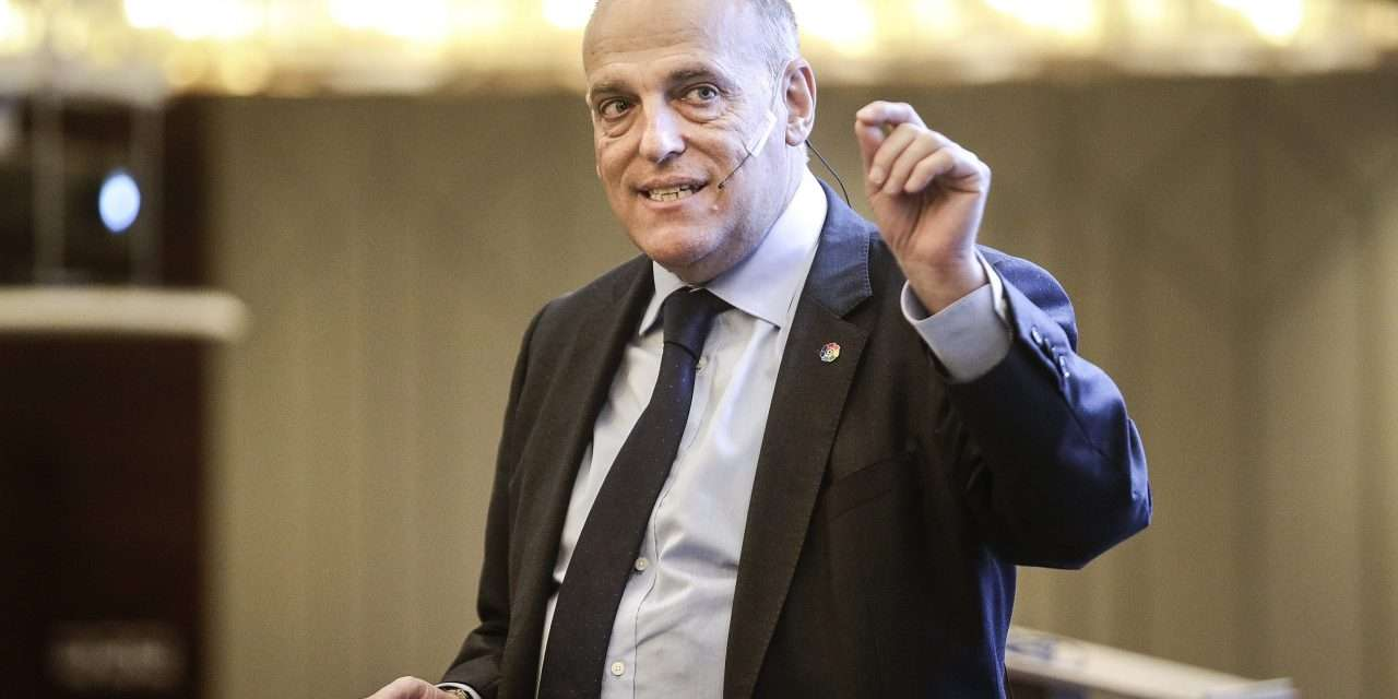 """Tebas: """"If the government says that the competition must be suspended, it will be suspended."""""""