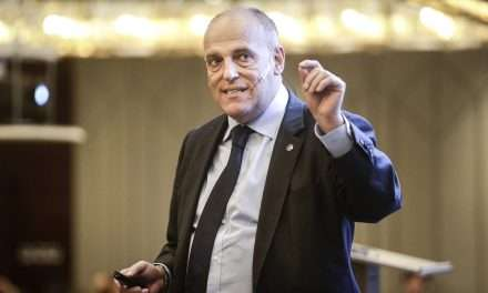 "Tebas: ""If the government says that the competition must be suspended, it will be suspended."""
