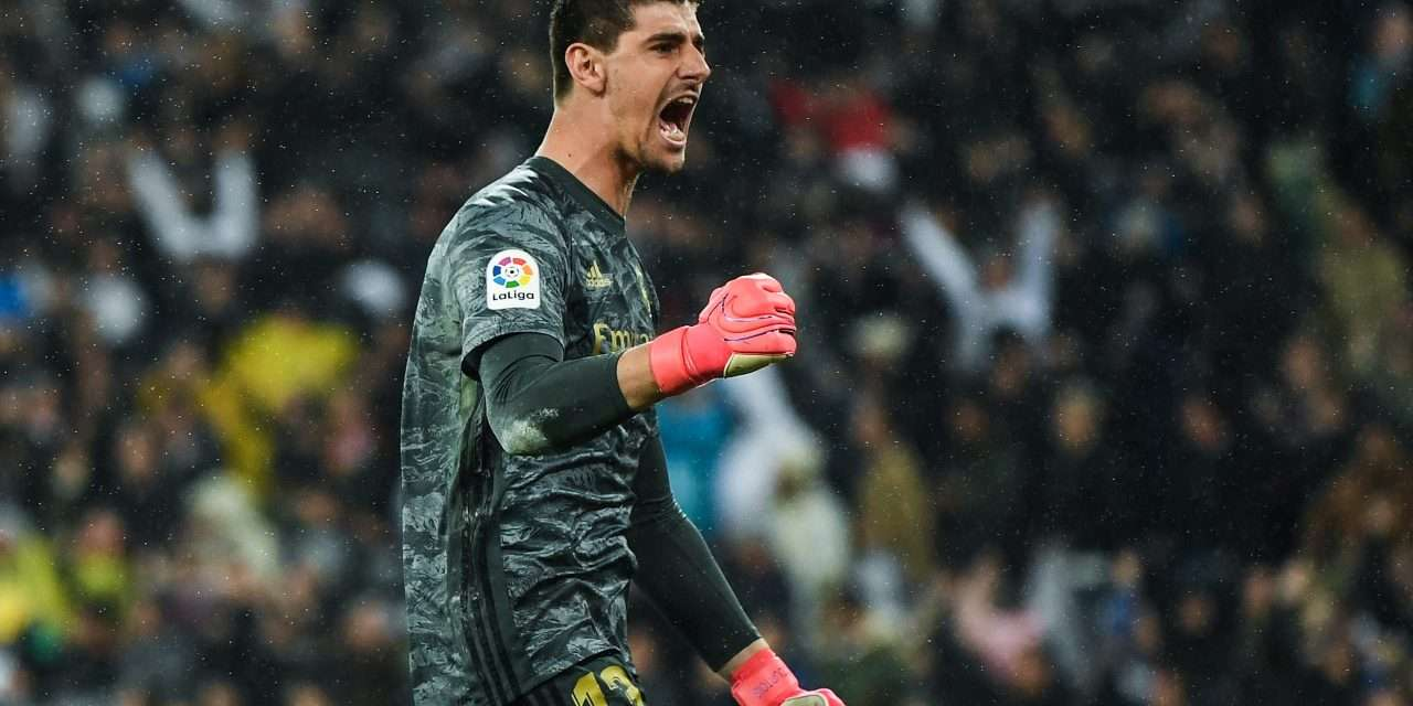 """Thibaut Courtois: """"I played on the left as I was growing up, but after my header against Valencia maybe I could've been a striker."""""""