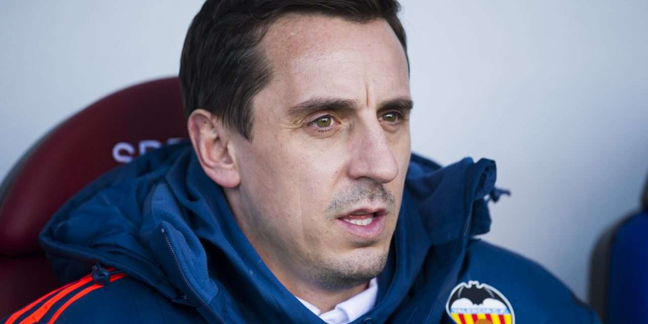 """Gary Neville on his time at Valencia: """"I think I lost the dressing room in the quality of the training sessions that I put on."""""""