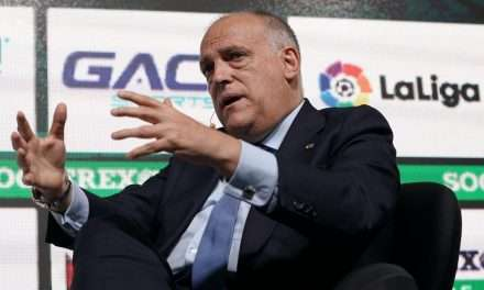 "Javier Tebas: ""La Liga will end perfectly thanks to the suspension of Euro 2020."""