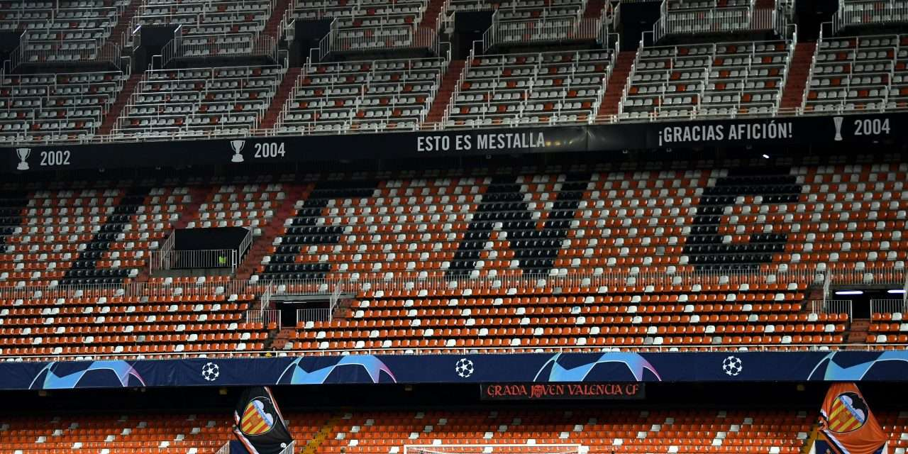 Valencia CF confirm 35% of players and staff have coronavirus