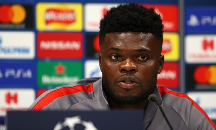 Thomas Partey's father reveals talks with Arsenal are  ongoing