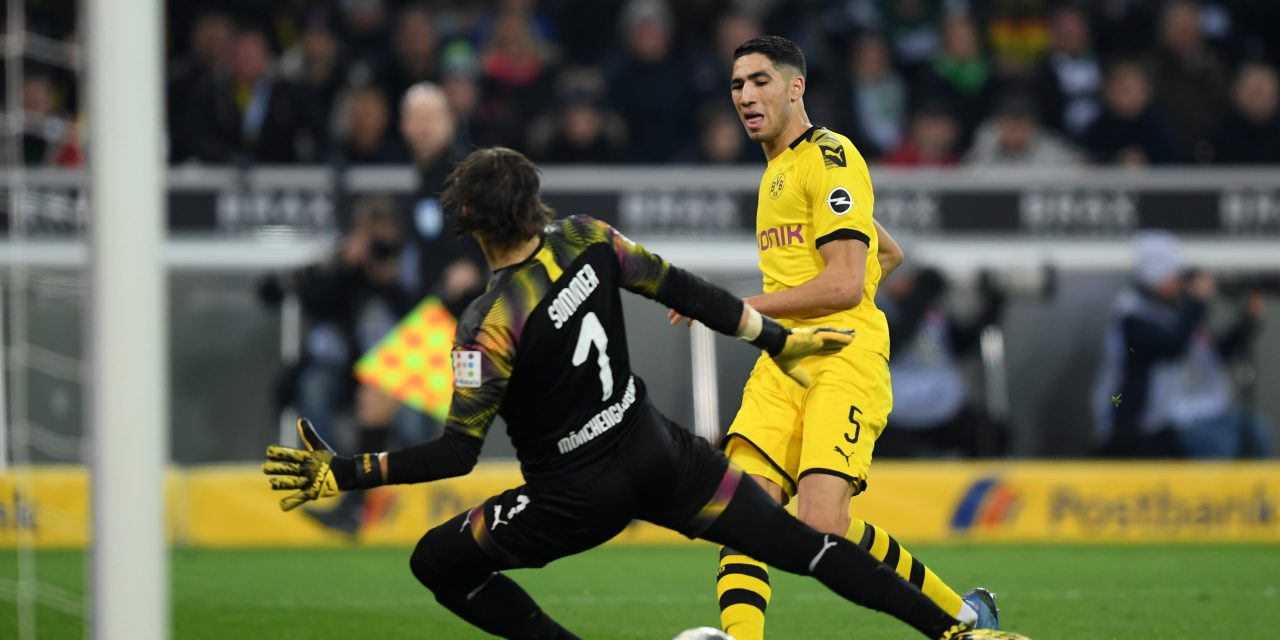Borussia Dortmund keen for Real Madrid defender Achraf Hakimi to stay