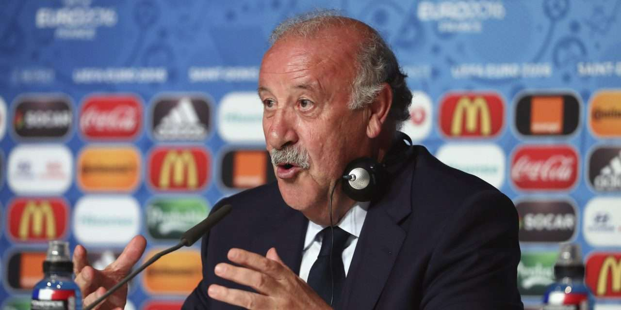 "Vicente del Bosque: ""Neymar is a fantastic player but not a good example to follow."""