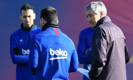"Quique Setién: ""Messi will finish his career at Barcelona."""