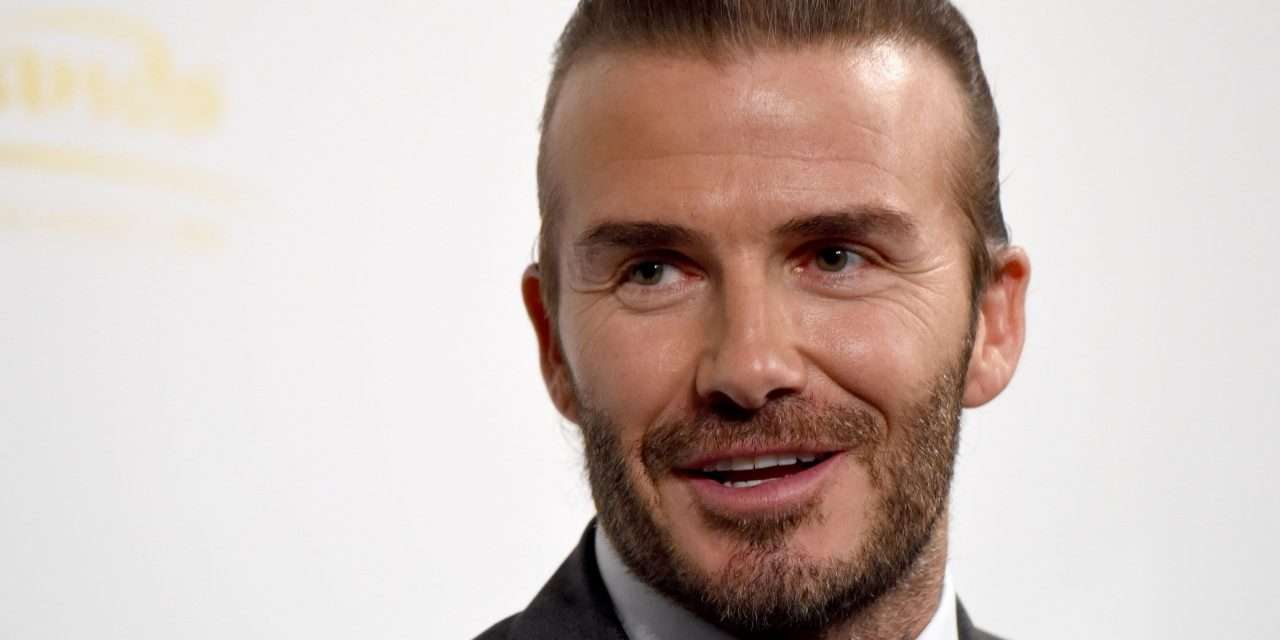 """David Beckham: """"Messi is unique and there isn't anybody else like him."""""""