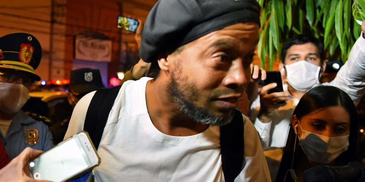 Ronaldinho opens up for first time about life in prison