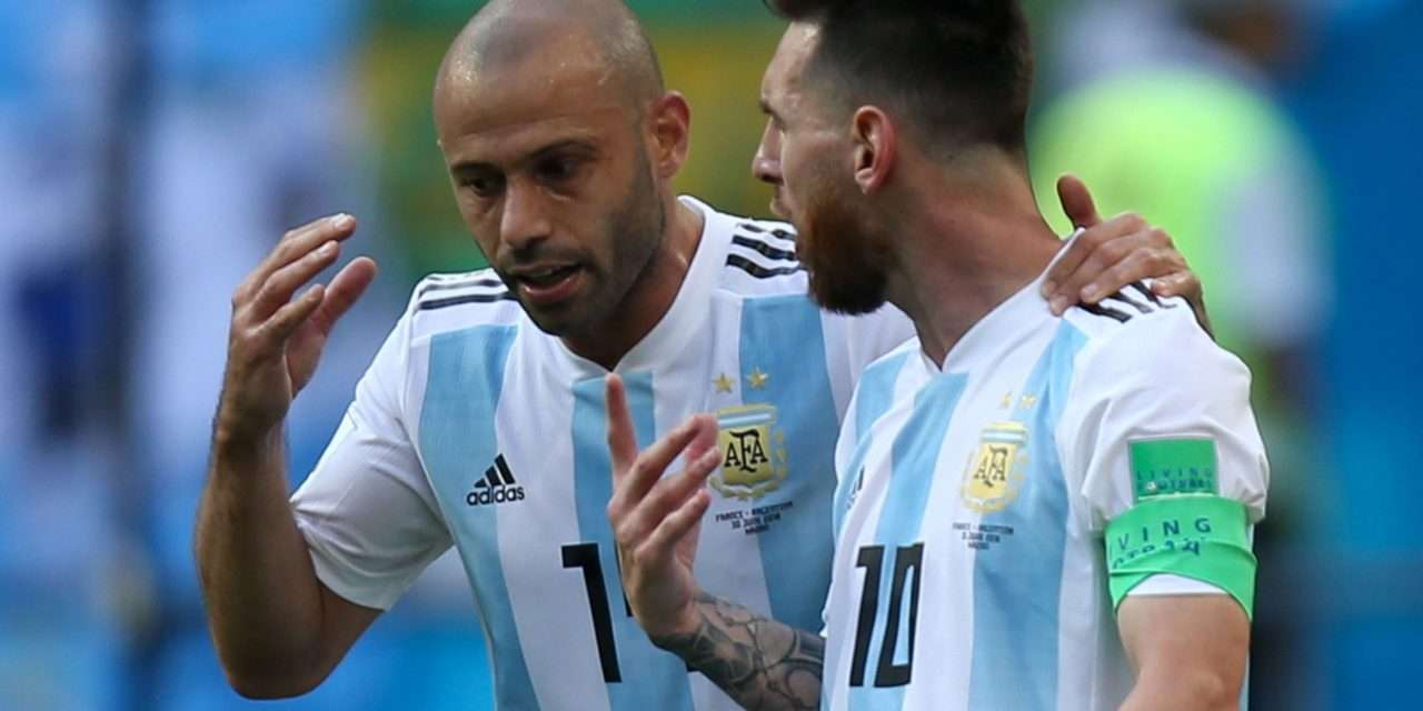 """Javier Mascherano: """"Lionel Messi is from another planet."""""""