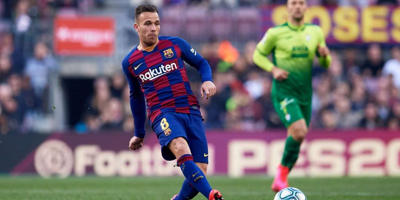 """Arthur Melo: """"The interest of big clubs is flattering, but I want to play for Barcelona."""""""