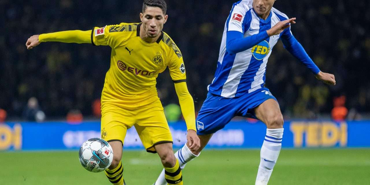 """Achraf Hakimi: """"I haven't had contact with Real Madrid but we will have a conversation soon."""""""
