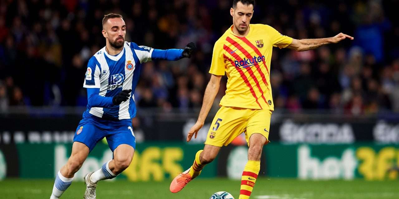 """Sergio Busquets: """"It's going to be very difficult for the La Liga season to resume."""""""