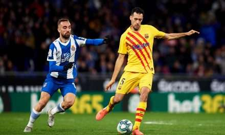 "Sergio Busquets: ""It's going to be very difficult for the La Liga season to resume."""