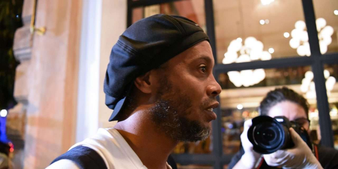 Ronaldinho released from prison after paying €1.2m bail fee