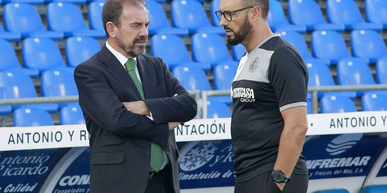 """Getafe president: """"If we qualify for the Champions League, I'll enjoy it for a year and then I'm off."""""""