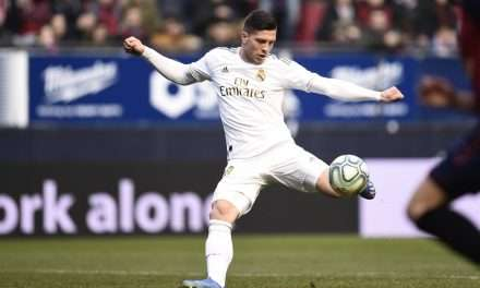 Luka Jović suffers fracture in right foot