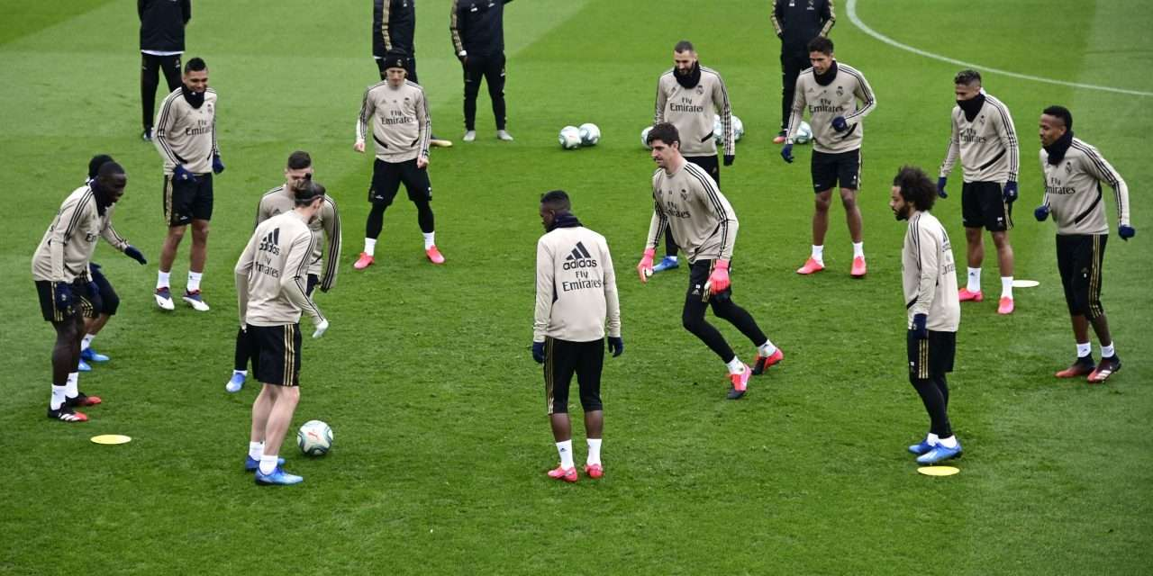 Real Madrid to start testing players