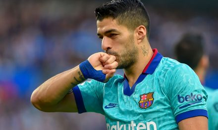 Luis Suárez happy to be back for title run-in