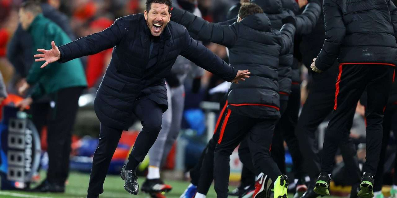 """Diego Simeone: """"The win at Anfield was not a question of luck."""""""
