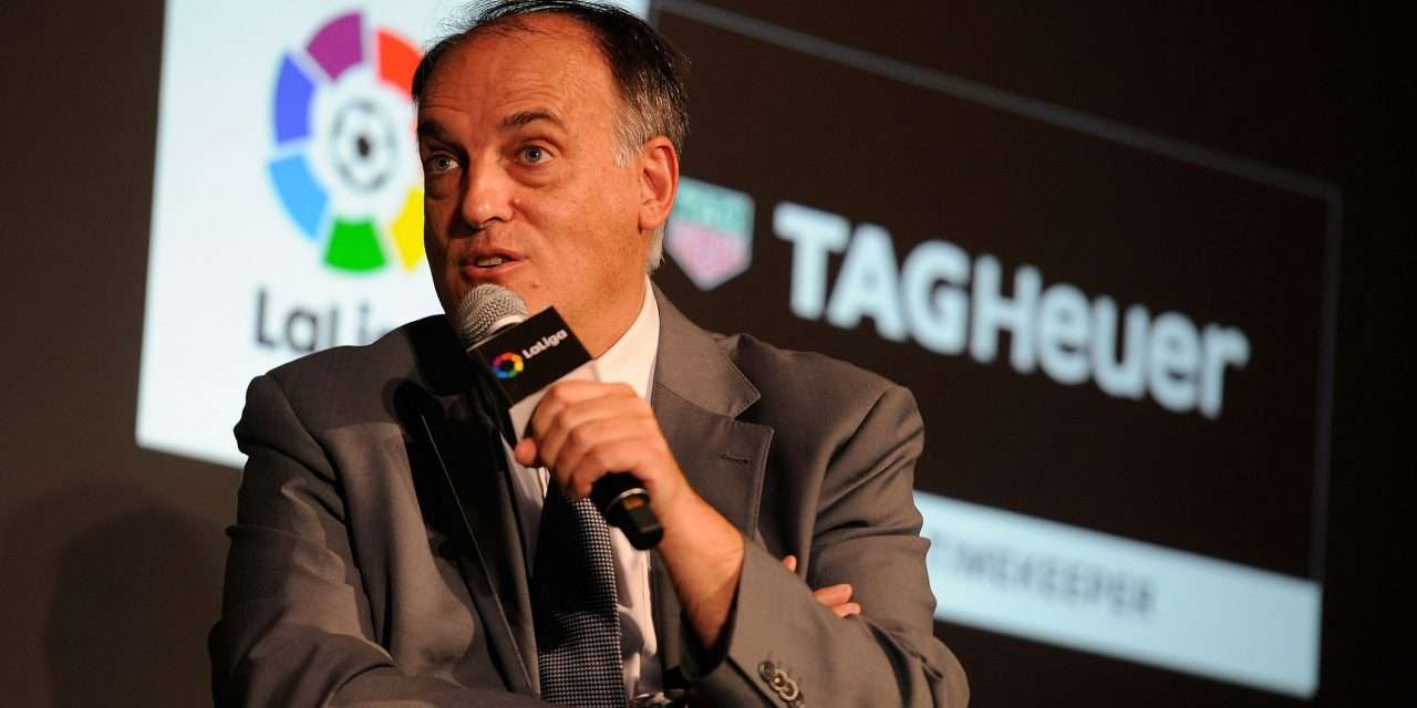 "Javier Tebas: ""La Liga could return on June 11."""