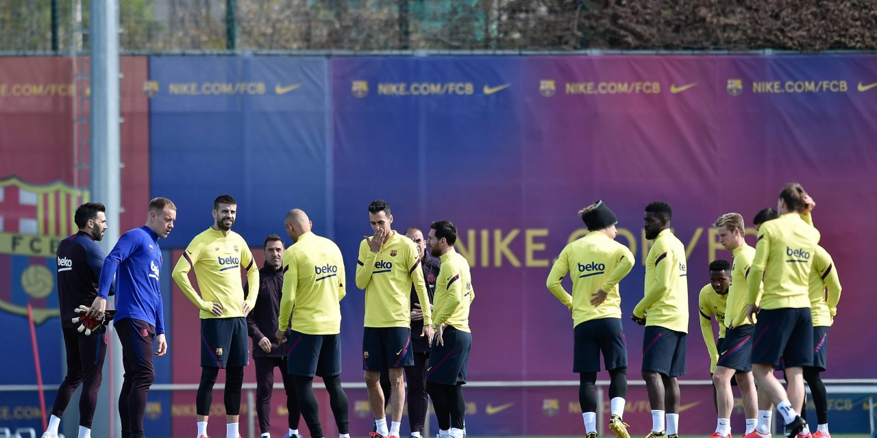Five Barcelona players tested positive for COVID-19