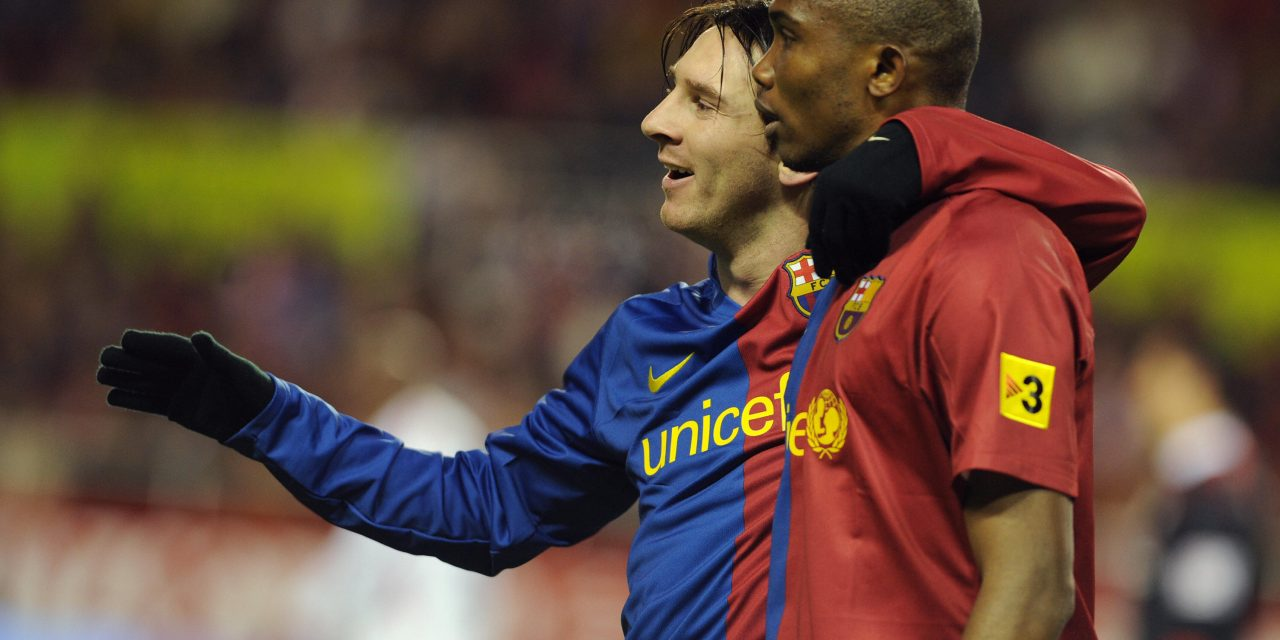 """Samuel Eto'o: """"Messi has to play until he's 70 so we can enjoy him more."""""""