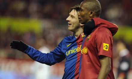 "Samuel Eto'o: ""Messi has to play until he's 70 so we can enjoy him more."""