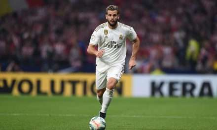 Real Madrid defender Nacho sidelined for two to three weeks