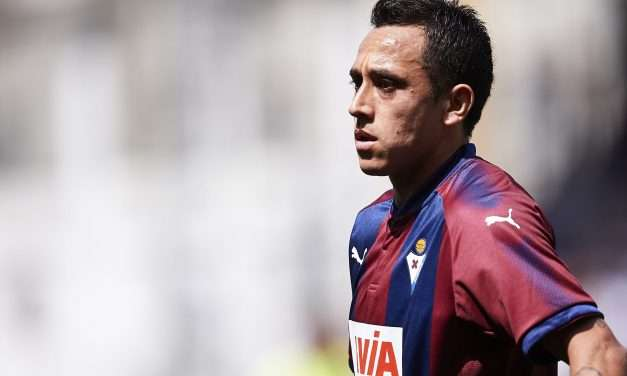Fabián Orellana set to join Real Valladolid from Eibar