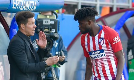 "Diego Simeone admits the ""biggest clubs in Europe"" are after Atlético Madrid midfielder Thomas Partey"