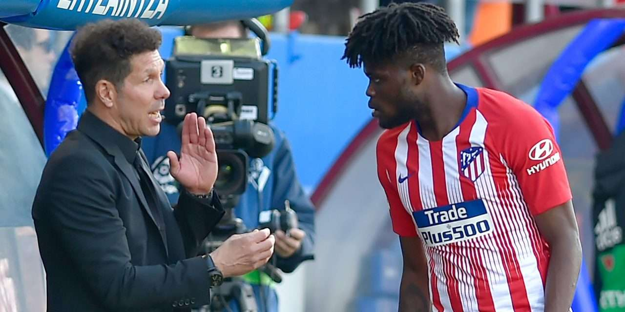 """Diego Simeone admits the """"biggest clubs in Europe"""" are after Atlético Madrid midfielder Thomas Partey"""