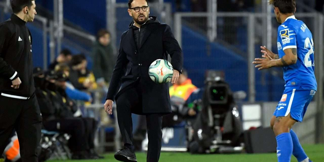 """José Bordalás on life at Getafe during COVID-19: """"Those who did not have a gym at home were provided with equipment."""""""