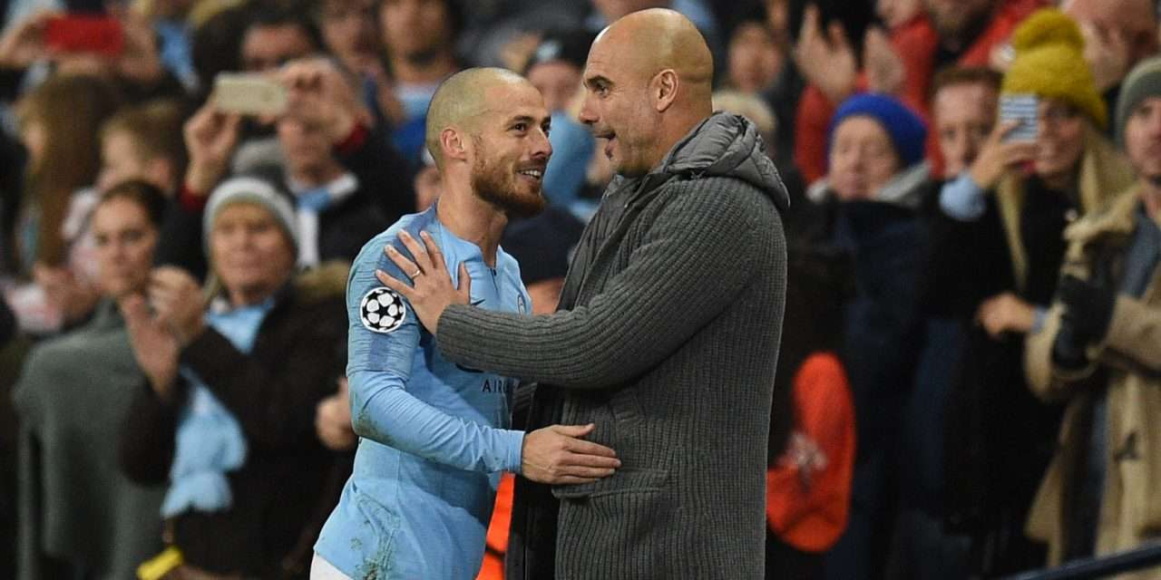 "Pep Guardiola on David Silva: ""He will stay until the end of the season."""