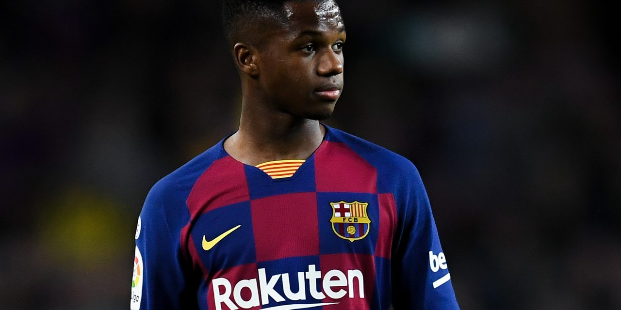 Barcelona reject €100m offer for 17-year-old wonderkid Ansu Fati
