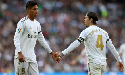 "Zidane: ""Ramos and Varane is the best centre-back pairing around."""