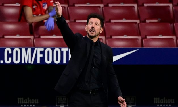 """Diego Simeone: """"VAR is fair to everyone, if Real Madrid get more penalties it's because they attack more."""""""