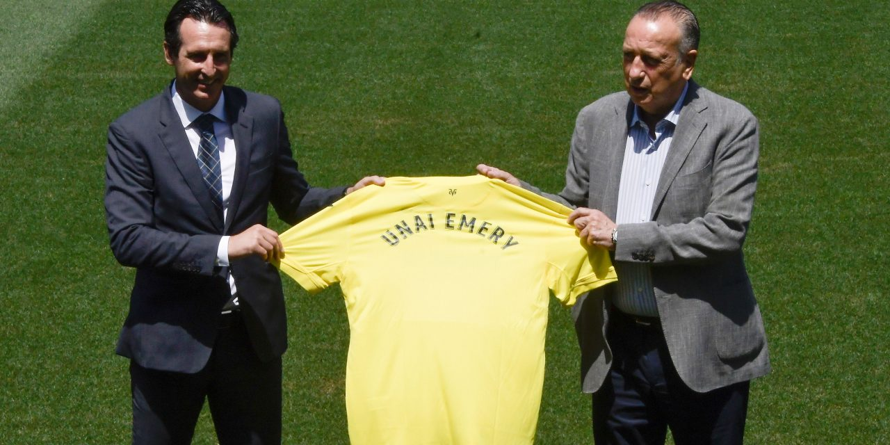 """Unai Emery: """"I dream of winning a title with a project that excites me, like Villarreal."""""""
