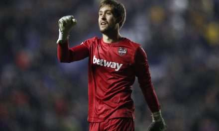 Atlético Madrid eye Levante shot-stopper Aitor Fernández