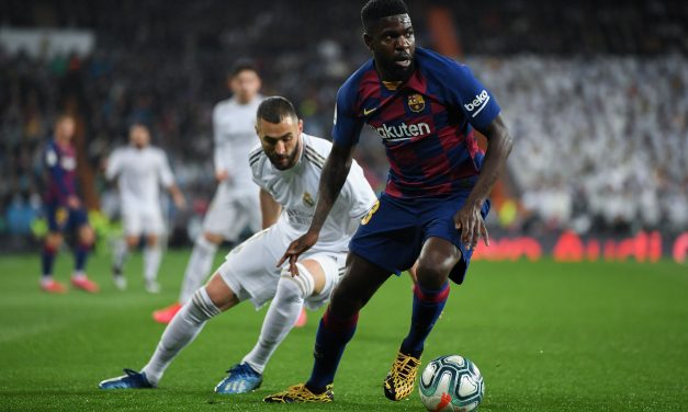 Barcelona defender Samuel Umtiti could miss rest of season with knee injury