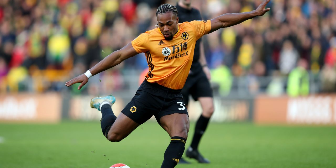 Man City and Juventus favourites to land Wolves' Spanish winger Adama Traoré