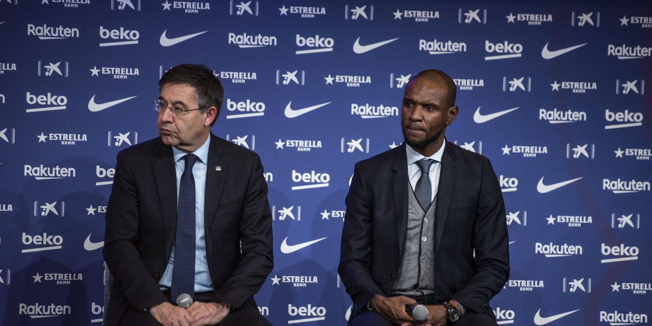 Official | Barcelona sack Eric Abidal as Director of Football